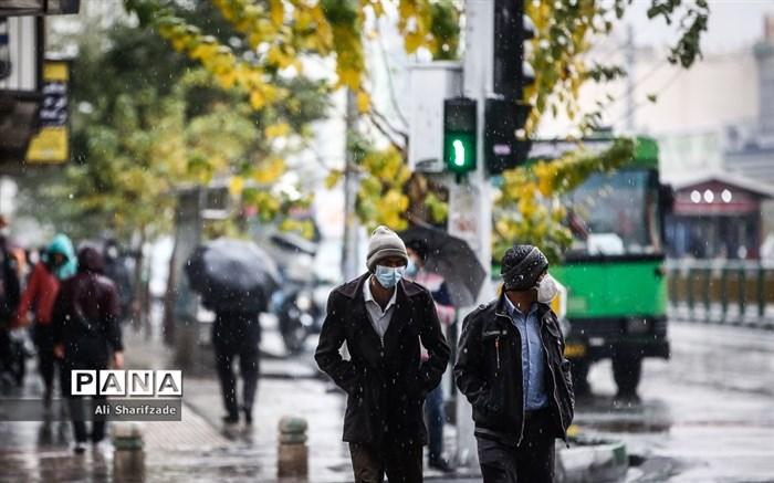 چگونه در باران ماسک بزنیم؟