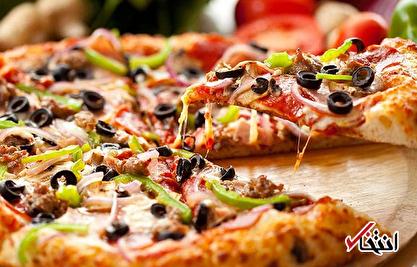 چگونه پیتزا بخوریم و چاق نشویم؟