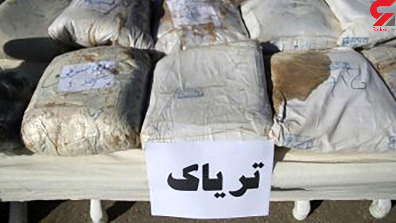 کشف محموله سنگین موادمخدر در مرز میرجاوه