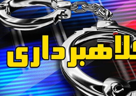 کلاهبردار میلیونی در تربت حیدریه دستگیر شد