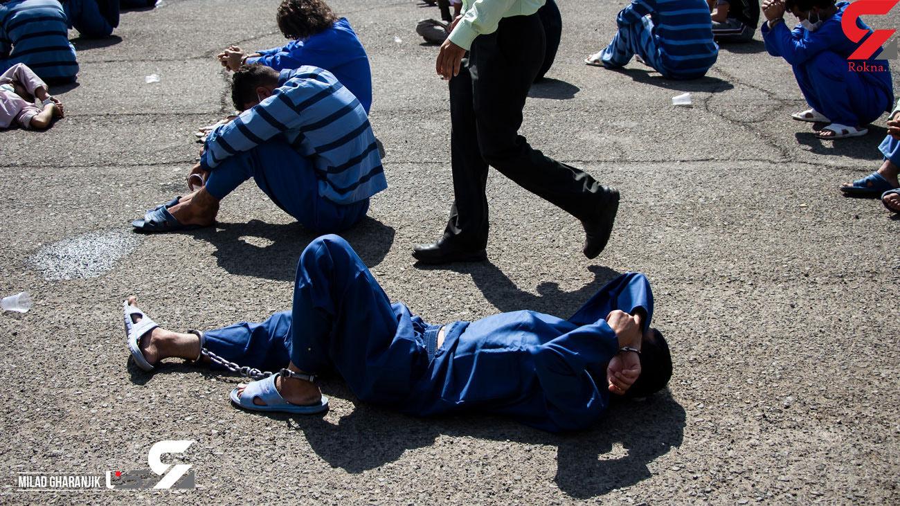 ۲۷ سارق مسلح و زورگیر در دزفول دستگیر شدند