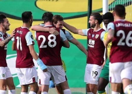 هفته نهم لیگ برتر انگلیس | پیروزی برنلی مقابل کریستال پالاس
