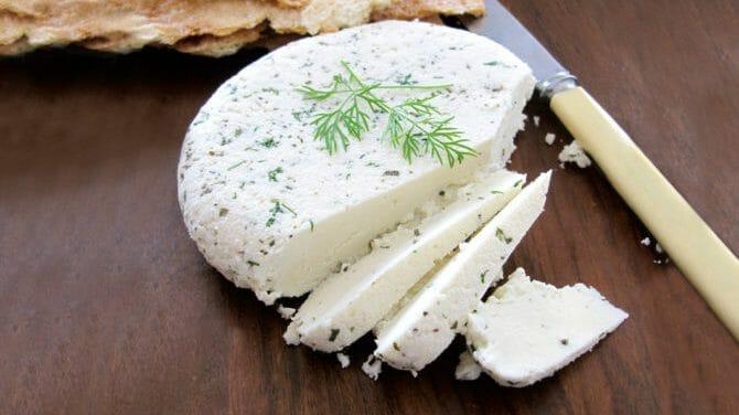 طرز تهیه پنیر با سرکه