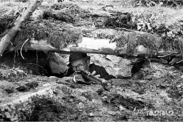 «سیمو هایها» ملقب به «مرگ سفید»؛ مرگبارترین و مخوفترین تک تیرانداز تاریخ جهان+عکس