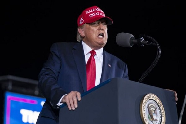 ترامپ: امشب فساد انتخاباتی افشا میشود