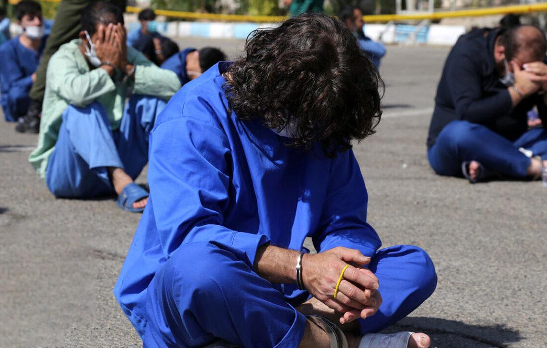 دستگیری قاتل فراری در کمتر از یک ساعت پس از وقوع جنایت در رودان