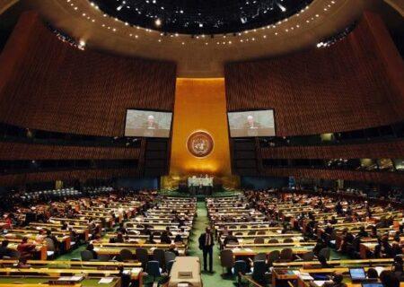 سازمان ملل «قطعنامه حق حاکمیت دائمی ملت فلسطین» را تصویب کرد