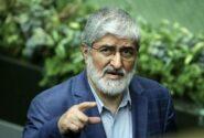 علی مطهری : رئیس جمهور نظامی یعنی در مملکت قحط الرجال است
