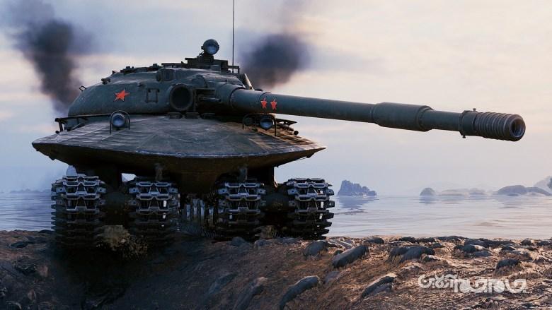 Object 279؛ تانک غول پیکر روسی با ۴ شنی، ظاهر بشقاب پرنده و مقاوم در برابر انفجار هسته ای+عکس