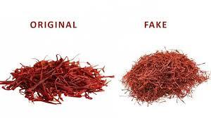 تفاوت زعفران اصل و زعفران تقلبی با یکدیگر+عکس