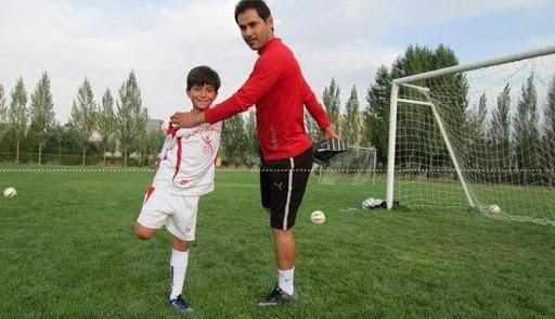 علیرضا آرین کیا پدیده خوزستانی فوتبال در جمع پرسپولیس ها