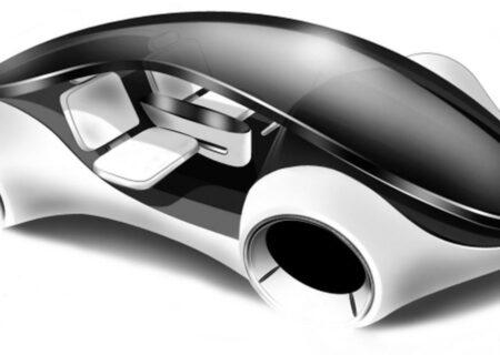 همراهی احتمالی خودروی خودران اپل با فناوری باتری انقلابی+عکس