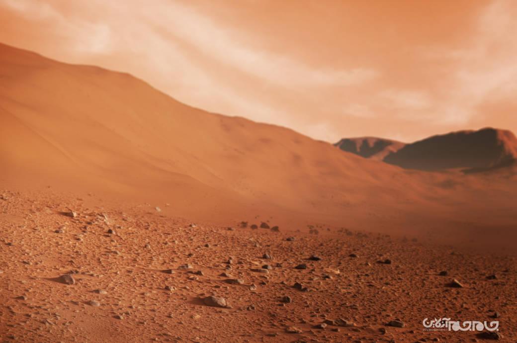 احتمال وجود زندگی در زیر سطح مریخ+عکس