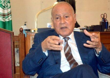 موضعگیری دوباره دبیر کل اتحادیه عرب علیه ایران