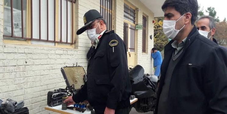 اعضای باند ۶ نفره سرقت به عنف در دام پلیس کرمان