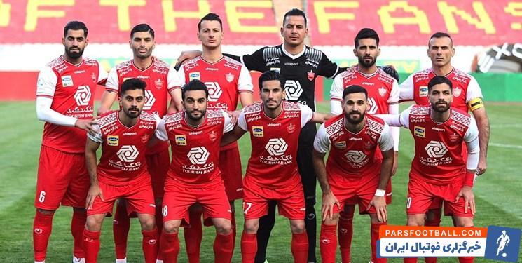 امیدواری باشگاه پرسپولیس برای برگزاری بازی با نساجی مازندران در تهران