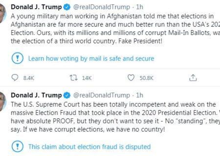 ادعای انتخاباتی ترامپ با هدف «پول درآورن و هوادار جمعکردن» است