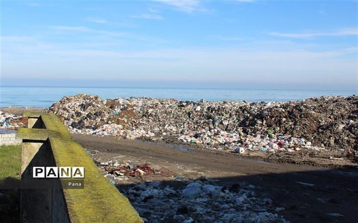 دپوی زباله در محمودآباد