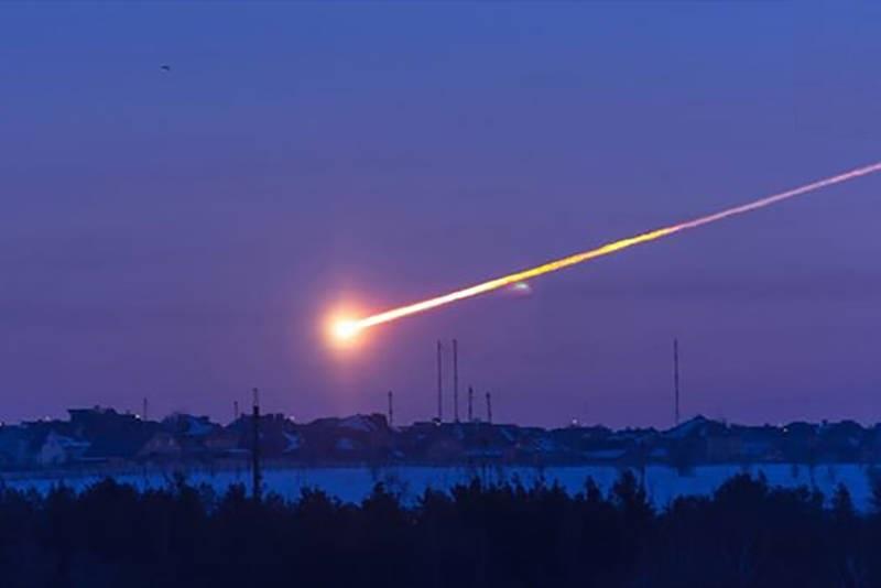 انفجار شهابسنگ در آسمان نیویورک