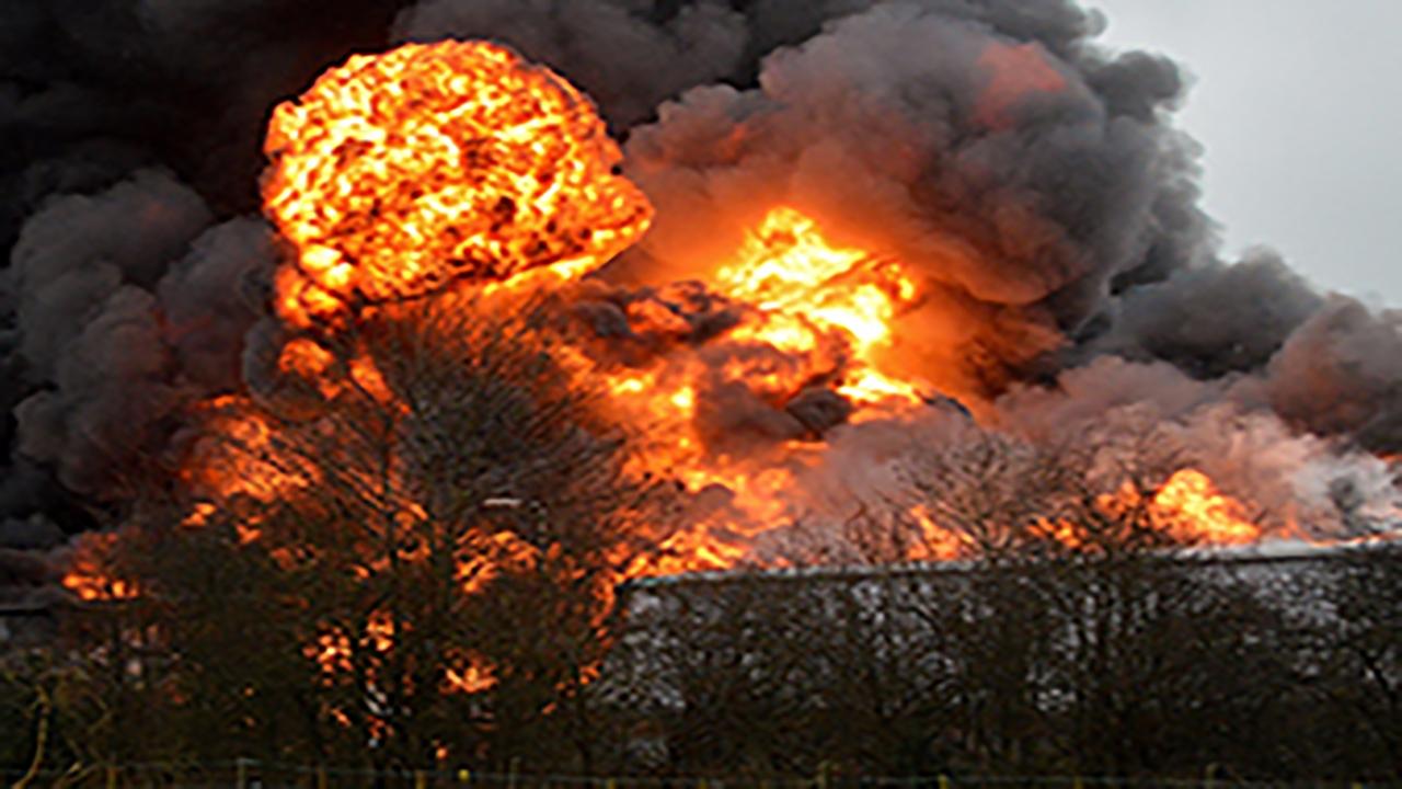 انفجار یک واحد مسکونی در خرمآباد بر اثر نشت گاز