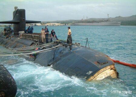 تجربه ای که زیردریایی اتمی آمریکا را نجات داد+عکس