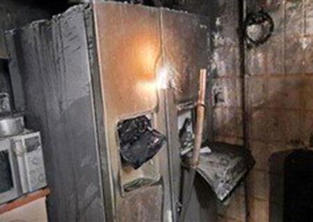 آتش گرفتن ۲ خانه در خیابان های اردلان و عباس آباد