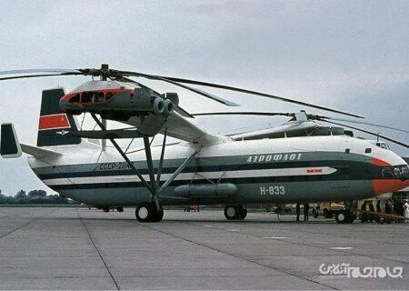 بررسی بالگرد میل V-12، پروژه ناموفق شوروی+عکس