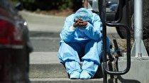 کمبود تخت و انتقال بیماران به پارکینگ بیمارستان ها