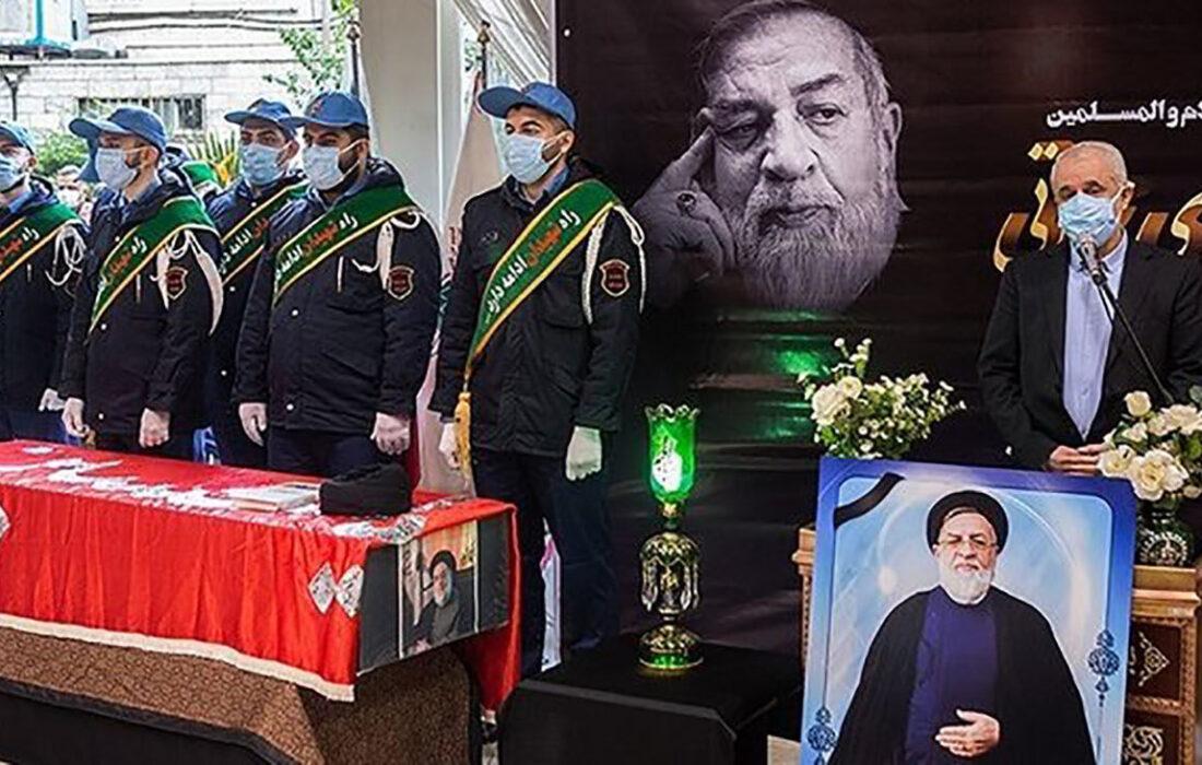 تشییع پیکر مرحوم حجتالاسلام و المسلمین شهیدی