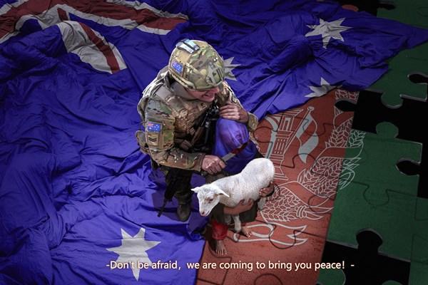 تصویر نظامی استرالیایی جنجال بپا کرد