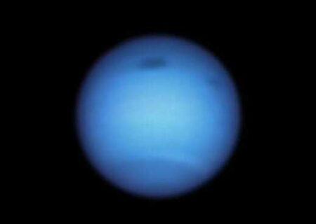 جدیدترین تصویر هابل از سیاره نپتون (+عکس)