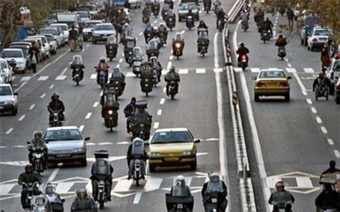 تنها ۳۳ دستگاه از ۳ میلیون موتورسیکلت در تهران معاینه فنی دارند