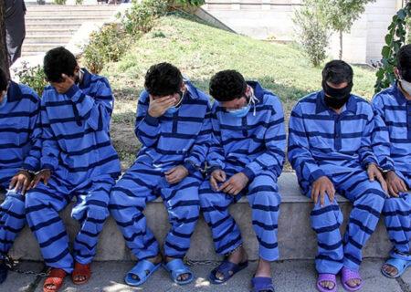دستگیری ۶ نفر از عوامل نزاع و درگیری در کرمانشاه