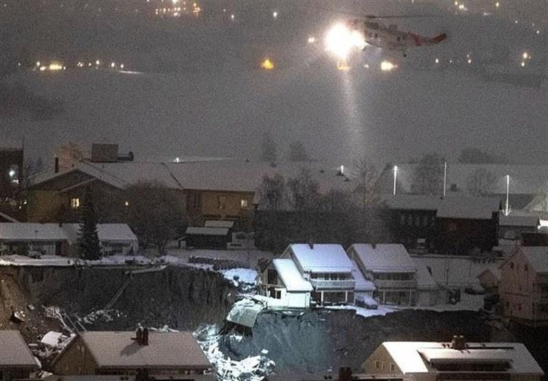 رانش زمین در نروژ | ۱۱ نفر ناپدید و ۱۰ نفر زخمی