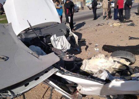 تصادف مرگبار در محور رامهرمز – بهبهان