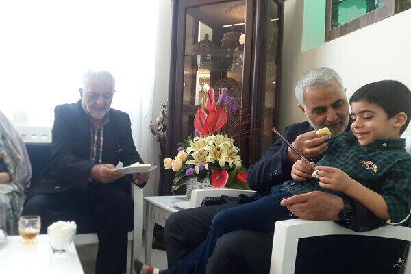 روایت ۲۰ دقیقه دیدار با شهید سلیمانی