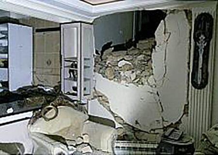 زنده زنده سوختن زن ۳۰ ساله تهرانی در انفجار خانه + عکس