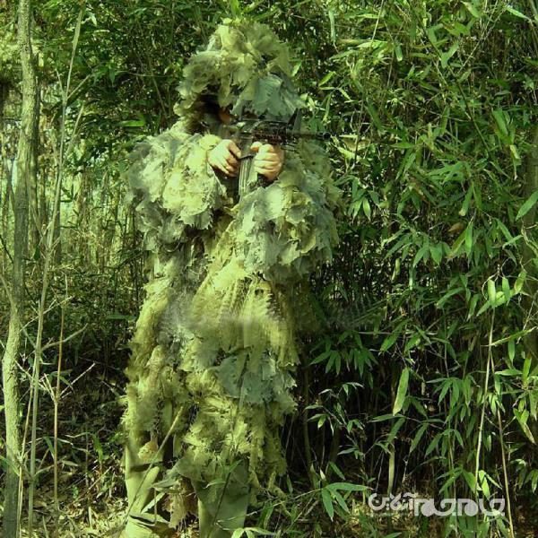 ساخت یک شنل برای استتار سربازان، توسط محققان کره ای+عکس