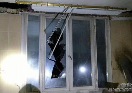انفجار شدید در تهران + عکس ها