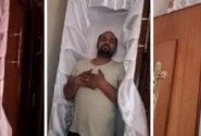 این مرد مرگ خود را پیش بینی کرده بود / شوخی که به مرگ رسید + عکس