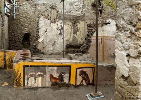 کشف اغذیهفروشی دوران رُم باستان با مِنوی غذا