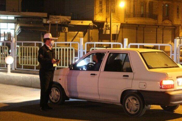 مالکان حدود ۱۲ هزار خودروی متخلف کرونایی در مازندران جریمه شدند