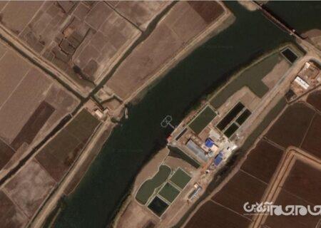 گزارش ماهواره ای از آموزش دلفین های کامی کازه توسط کره شمالی!+عکس