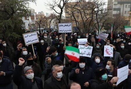 تجمع مردم تبریز در مقابل کنسولگری ترکیه + عکس