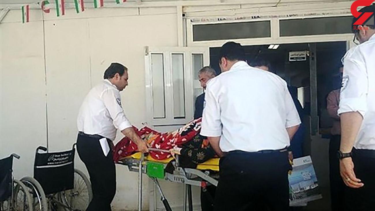 مرد ۴۰ ساله نیشابوری بعد از مرگ زنده شد + عکس