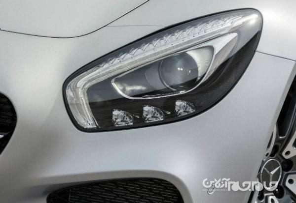 مرسدس AMG برای GT کوپه به علت ارتفاع بیش از حد نوربالا، فراخوان داد+عکس