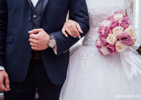 این عروس و داماد امریکایی اشک همه را در آوردند  + عکس