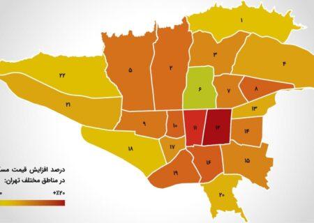این مناطق ، رکود دار عقب نشینی قیمت مسکن شدند