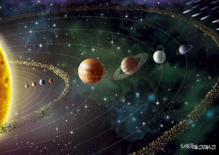 فروپاشی منظومه شمسی پیش از پیش بینی ها+عکس