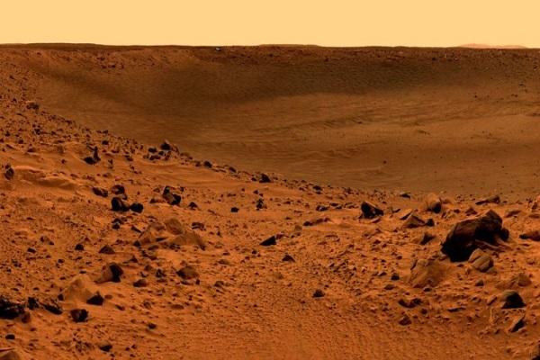 موجودات فضایی در زیر سطح مریخ